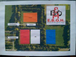 de Voetbal Talenten Toernooi velden van E.B.O.H.