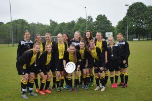 de sterke vice-kampioen van Nederland, de meiden van SC 't Gooi