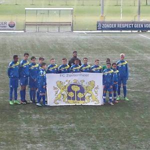 het team van gastheer FC Zoetermeer